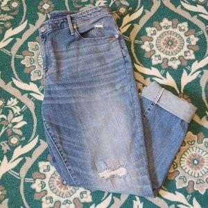 AVA & VIV Distrssed Skinny Jean